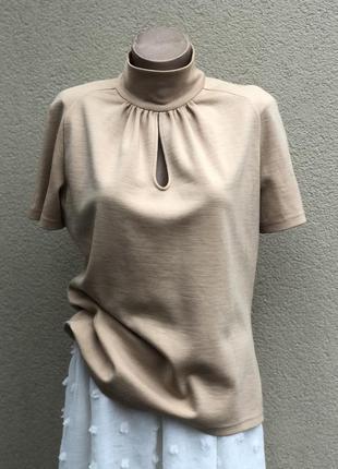 Винтаж,трикотаж блуза,кофточка,гольф,люкс бренд,оригинал