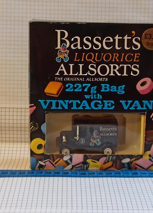 Lledo – Bassett's Liquorice Allsorts – t10104 – vintage van – мод