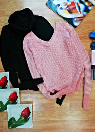 Женский брендовый вязаный свитер calvin klein - размер 42-44