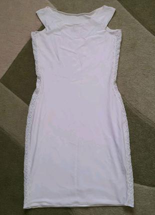 Платье вечернее с французским кружевом