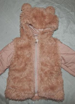 Куртка весенняя модная на девочку 1,5-2 года
