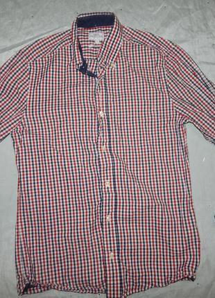 Рубашка модная клетка s от next