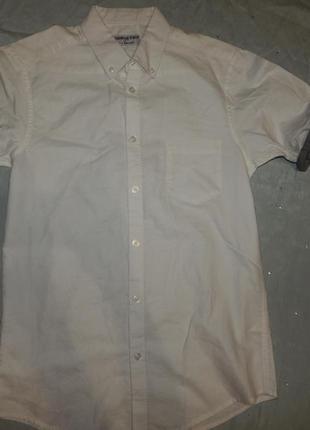 Рубашка белая модная новая р s