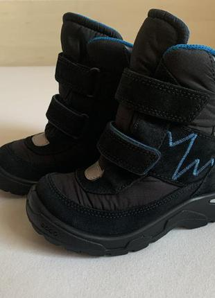 Зимние ❄️ сапоги , ботинки ecco с мембраной gore-tex ❄️размер 27
