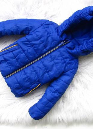 Стильная теплая куртка  с капюшоном rebel