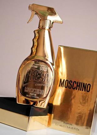 Moschino gold fresh couture парфюмированная вода,30 мл