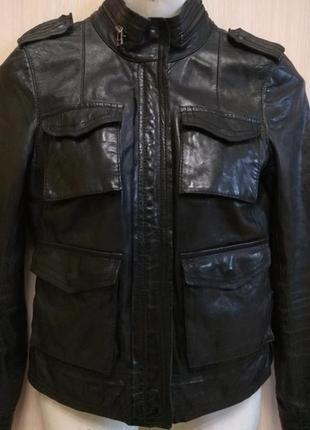 Кожаная курточка - кожа ягнёнка