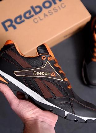 Мужские кожаные кроссовки Reebok Street Style Brown