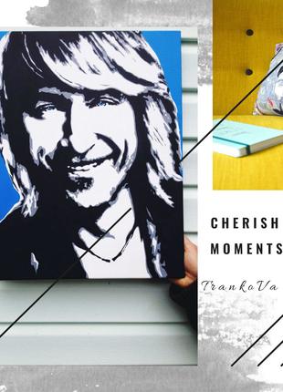 Портрет Pop-Art самый шикарный подарок для самых любимых