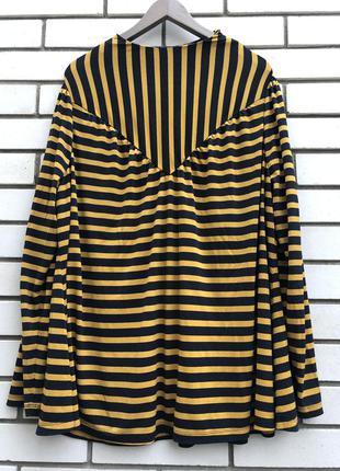 Полосатая блузка большого размера next