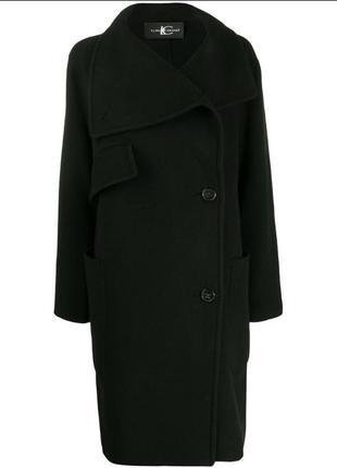 Пальто с асимметричной застежкой от luisa cerano.