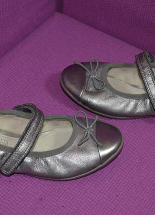 Стильные кожаные балетки clarks