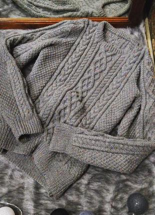 Скидки на все свитера!! объемный свитер джемпер пуловер грубой...