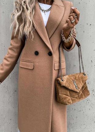 Пальто кашемировое кеиел тренч