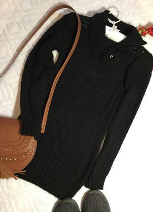 Распродажа!!! свитер туника шерсть размер xs