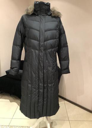 Пуховое пальто пуховик сolumbia. до -30с. размер л