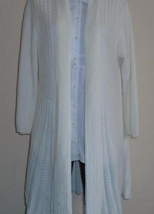 Вязаный кардиган/свитер/светр