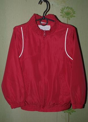 Спортивка,мастерка,кофта, куртка , девочке на рост 126-130 -okay-