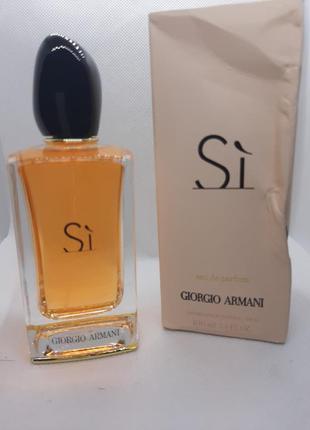 ⭐⭐оригинал ⭐⭐100 мл giorgio armani si парфюмированная вода дор...