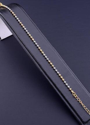 Браслет 'xuping' 17 см. (позолота/родий) 0768410
