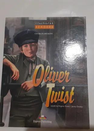 "Комикс ""Оливер Твист"" на английском для детей"