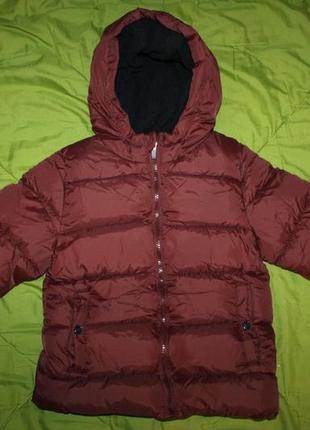Зимняя куртка Kiabi на 6-7 лет