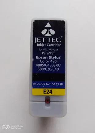 Картридж E24 для Epson stylus 480/580/C20/C40