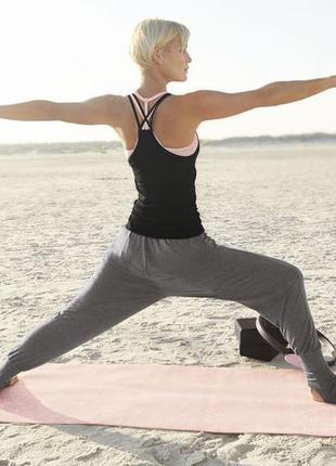Штаны для йоги для дома crivit