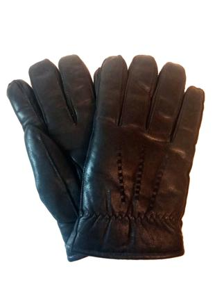 Перчатки кожа овцы и мех ягнёнка размер XL, укр 10