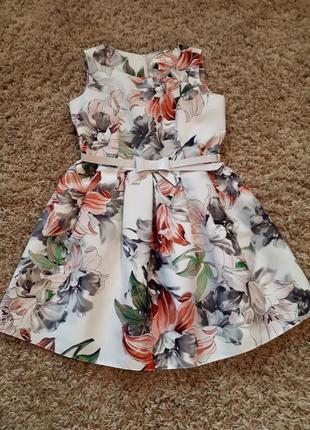 Классное праздничное/ нарядное летнее платье 👗 сарафан в цвето...
