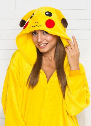 Кигуруми Пикачу (пижама, детский кигуруми, взрослый кигуруми)
