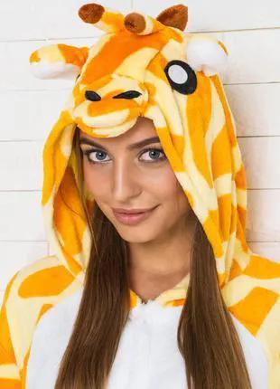 Кигуруми жираф, (пижама, детский кигуруми, взрослый кигуруми)