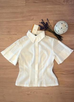 Дизайнерская рубашка, блуза хлопок