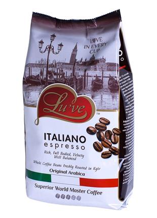 "Кофе в зёрнах ""Lu've Italiano Espresso""☕"