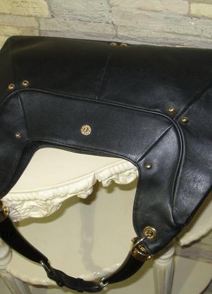 Сумка кожаная yves saint laurent 🧡 винтаж, оригинал