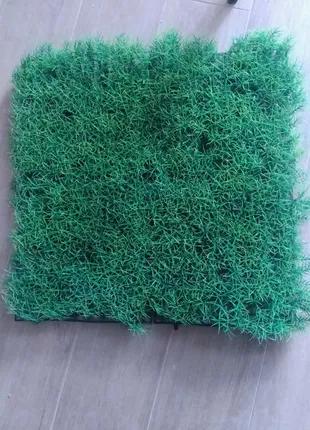Трава пластиковая искусственная