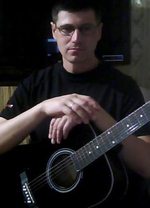 Уроки музыки: гитара. аккордеон, синтезатор, фортепиано