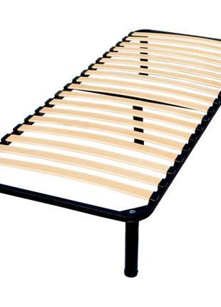 Метал-каркас кровати металлический с основанием из ламели, 1сп