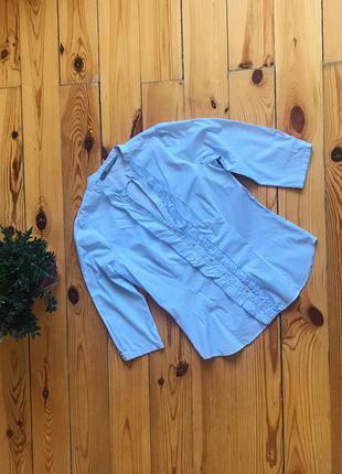 Красивая блуза блузка рубашка в мелкую полоску zara