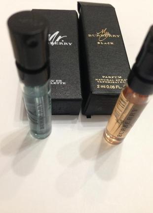 Два пробника парфюма от burberry 2ml+2ml
