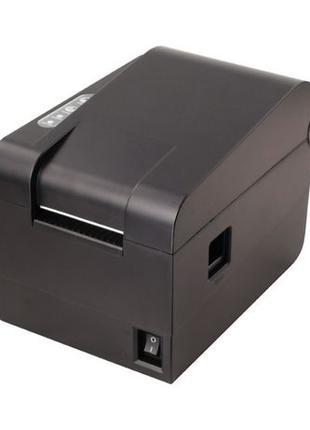 Принтер этикеток, термопринтер штрихкодов, QR Xprinter XP-235B...