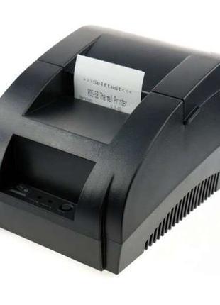 Чековый принтер, принтер чеков чеков USB 58мм POS-5890K, 5800