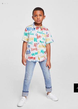 Рубашка с притом  mango