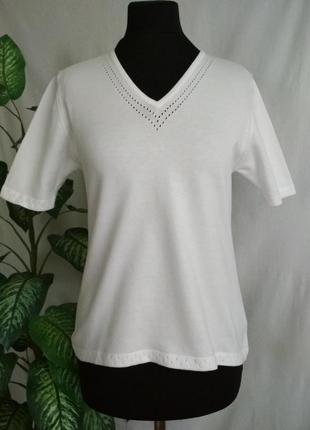 Белый женский джемпер пуловер. david nieper.