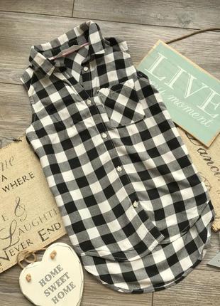 Рубашка туника h&m 9-10л