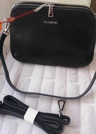 Женская коданая сумка клатч жіночий шкіряний жіноча шкіряна