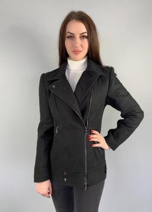 """Женское пальто """"косуха"""""""