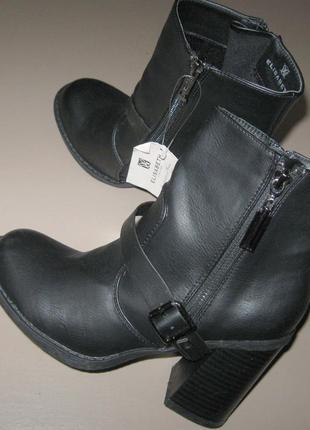 Новые ботинки демисезон elisabeth 37 размер. весна-осень
