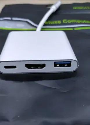 Адаптер Type C HDMI USB