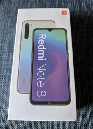 Xiaomi Redmi note 8 4/64 Global version Moonlight White Запако...